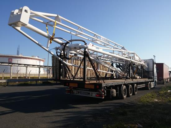 Delivery of oversize equipment from Netherlands to Bulgaria