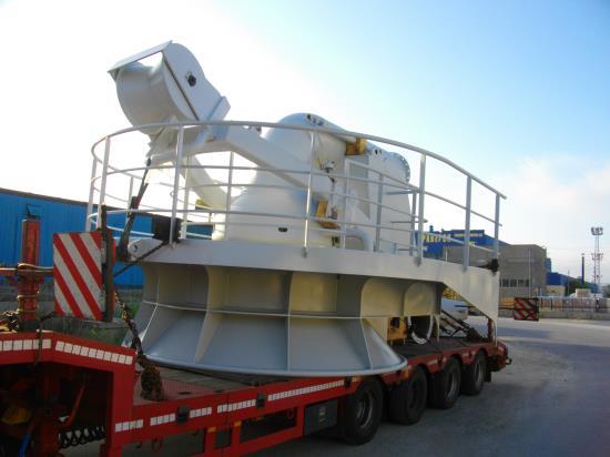 Transport of industrial equipment